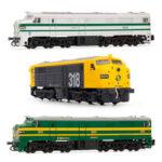 Locomotoras Renfe 316 y 318 Arnold escala N
