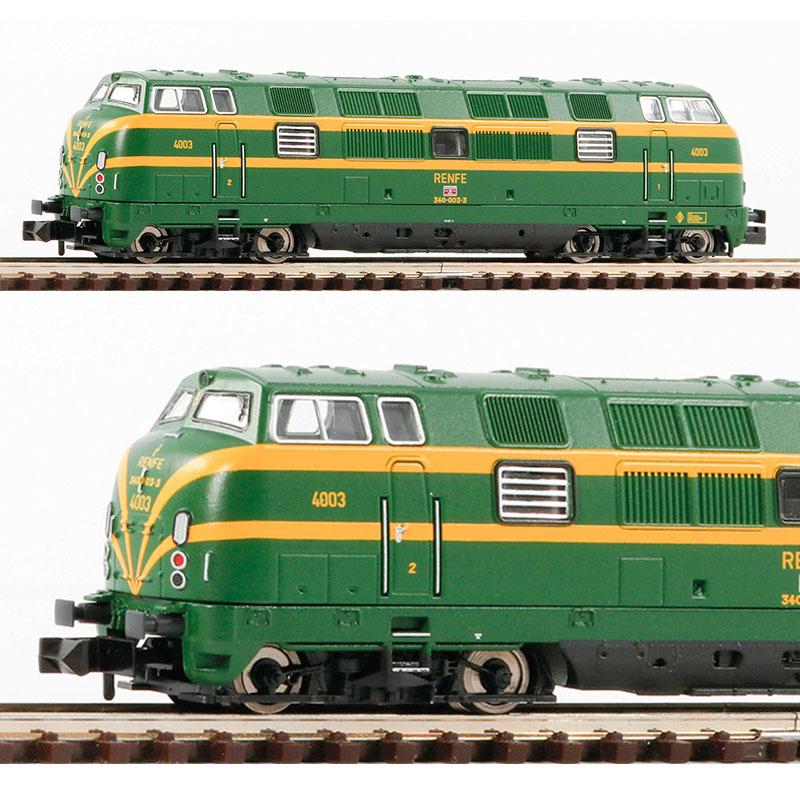 Locomotora Renfe 340 Fleischmann escala N