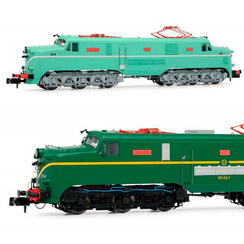 Arnold - Locomotora Renfe 277 (ex 7700) escala N