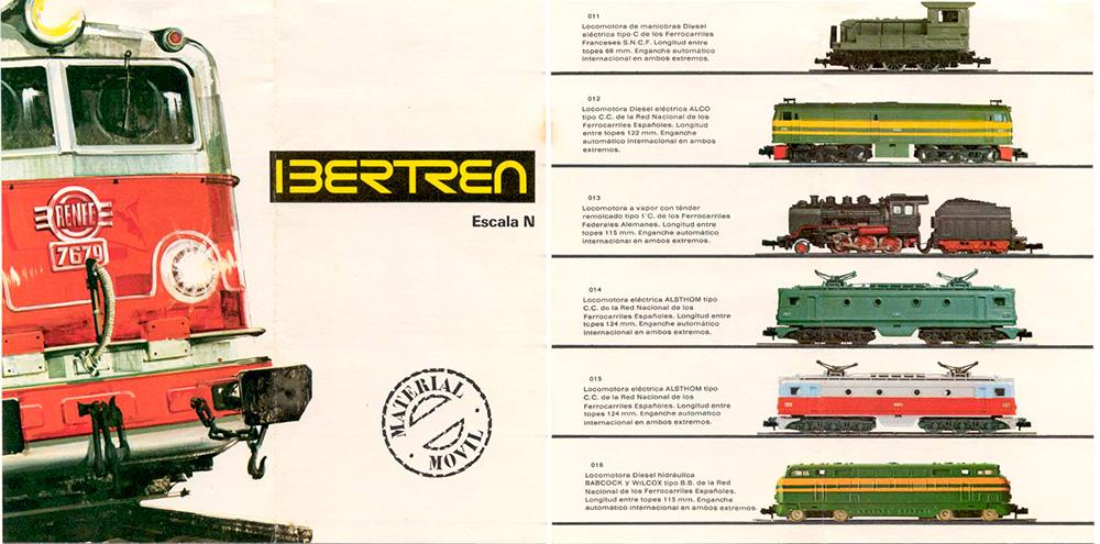 Catálogo Ibertren 1975 - 01