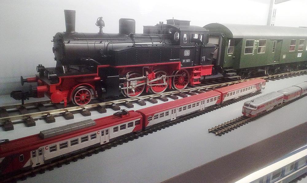 Locomotoras escala 1 contra escala N