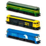 MFTrain - Locomotora diésel Renfe 2100 (321) escala N