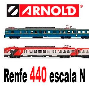 Renfe 440 Arnold escala N