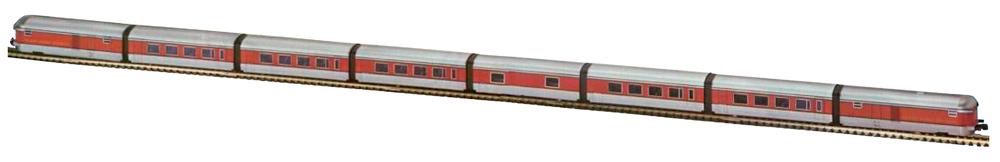 Rama Talgo III de Ibertren, disponible tanto en H0 como en N